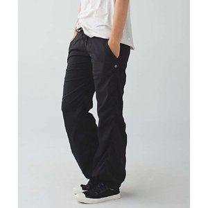 Lululemon Tall Studio Black Pants II *No Liner
